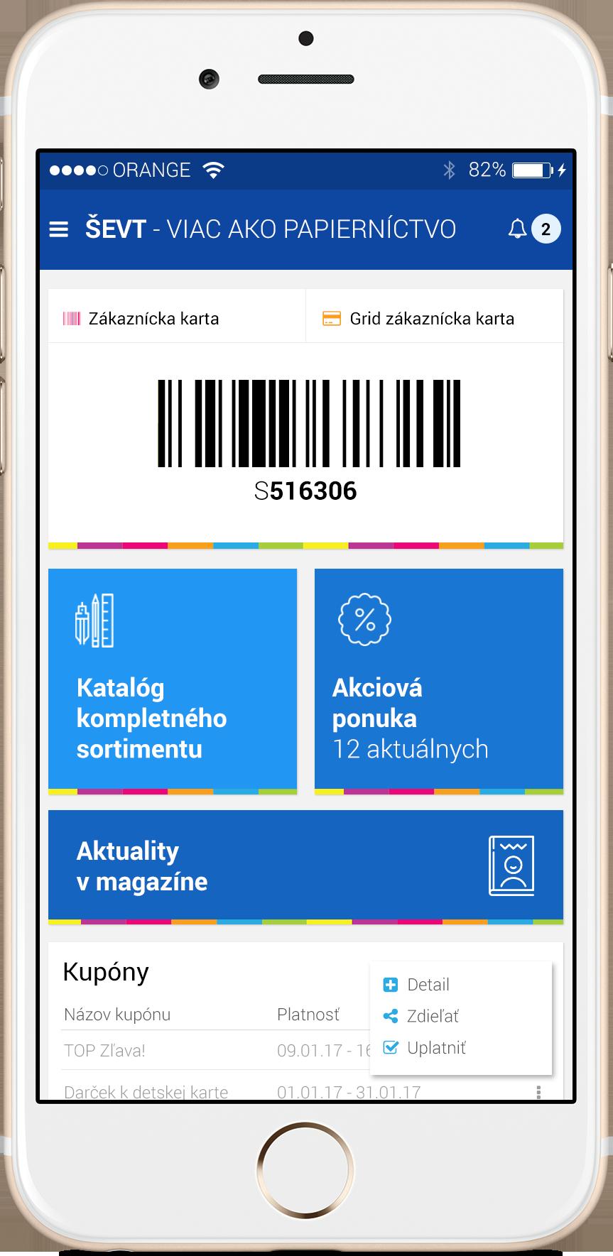 Elektronická zákaznícka karta - pripravujeme