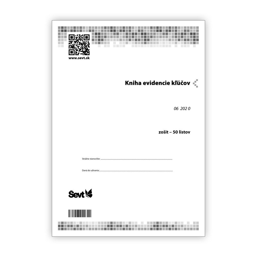 Kniha evidencie kľúčov