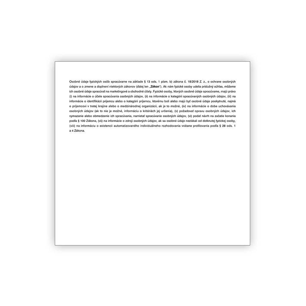 Faktúra 2/3 A4 (samopriepis)