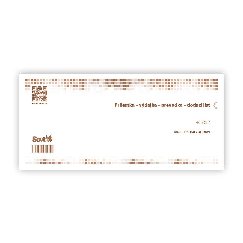 Príjemka/Výdajka/Prevodka/Dodací list