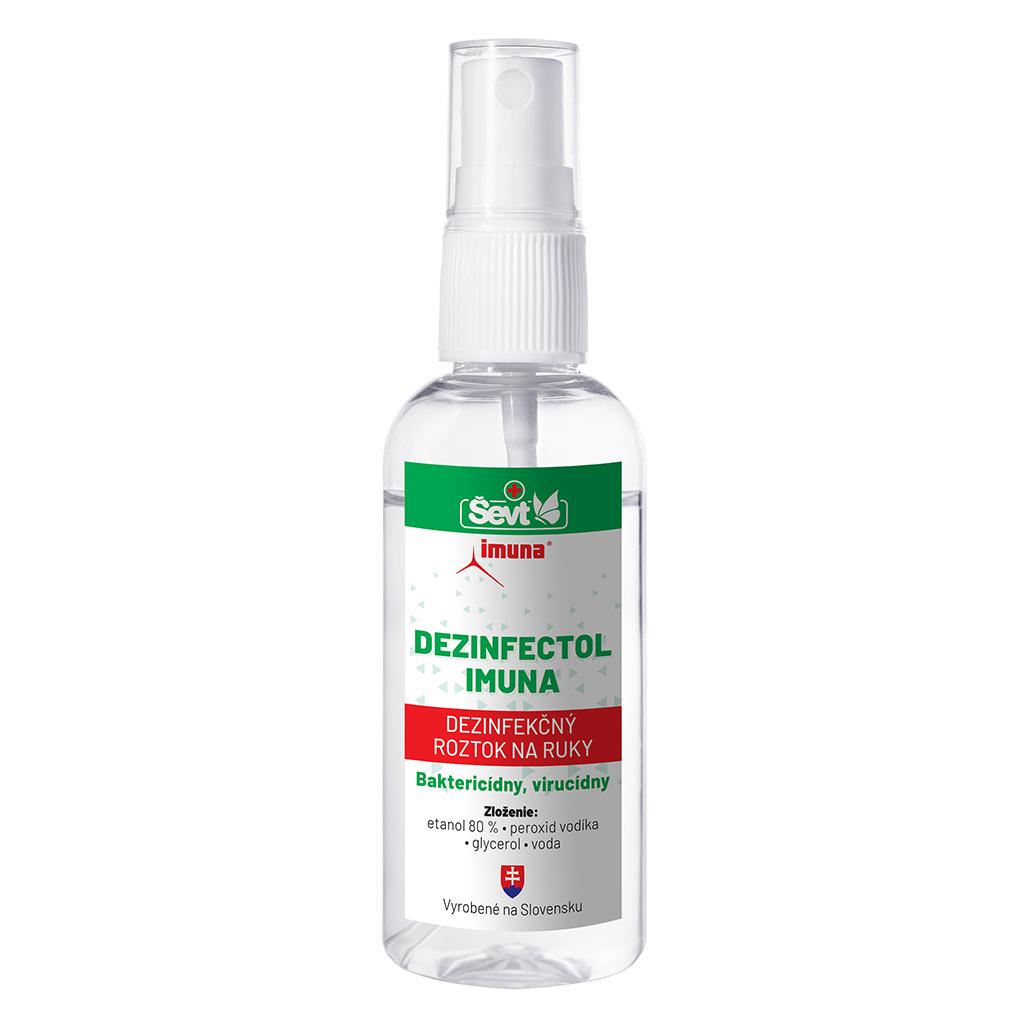 Dezinfekčný roztok na ruky Dezinfectol IMUNA 60 ml