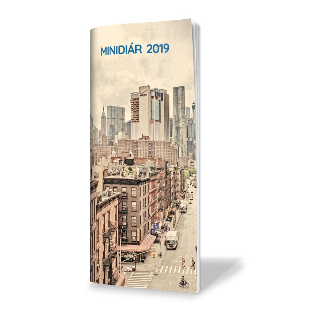 Minidiár ŠEVT 2019, mesač. - Manhattan