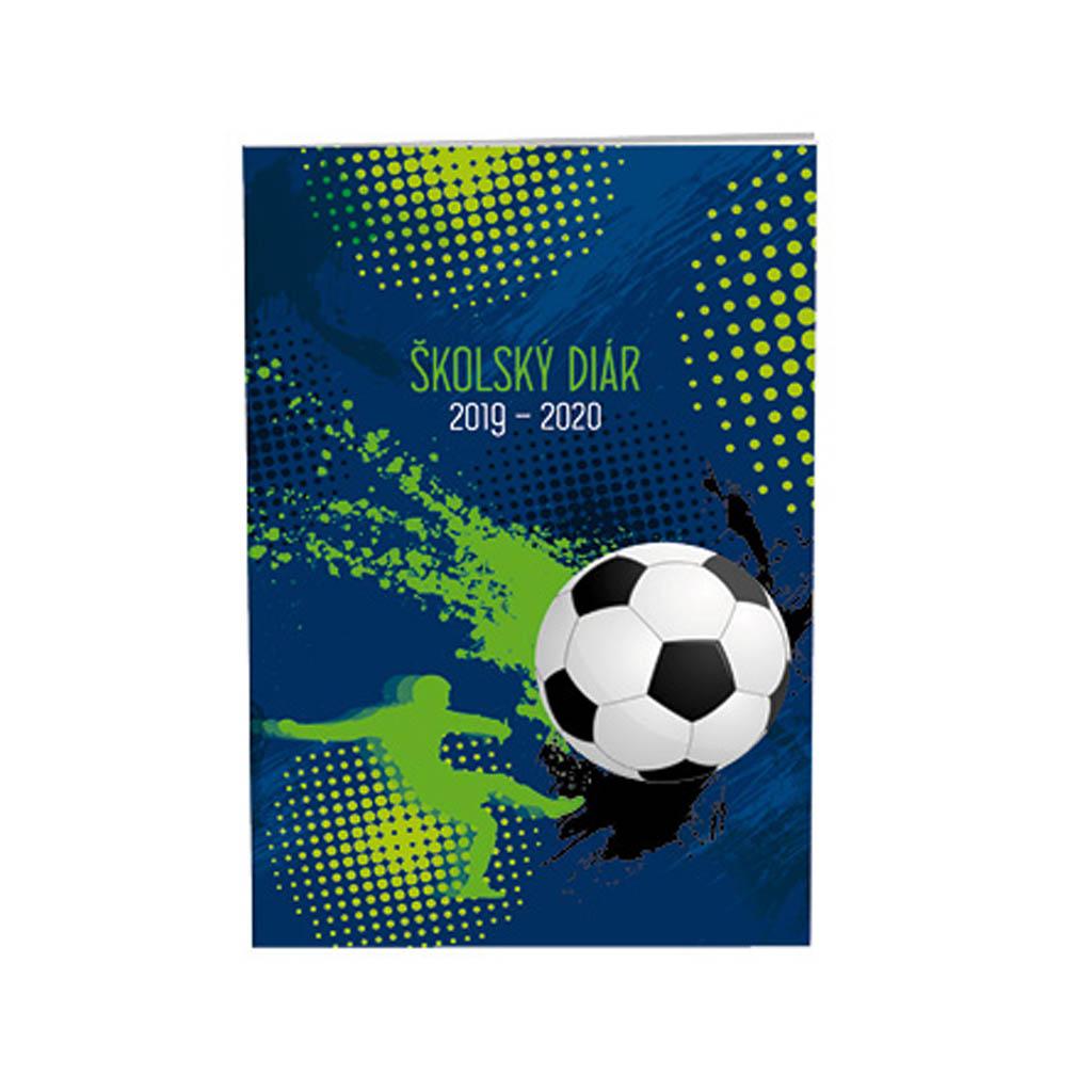 Diár školský SK 2019/20 - FOOTBALL 3 (100x150 mm)