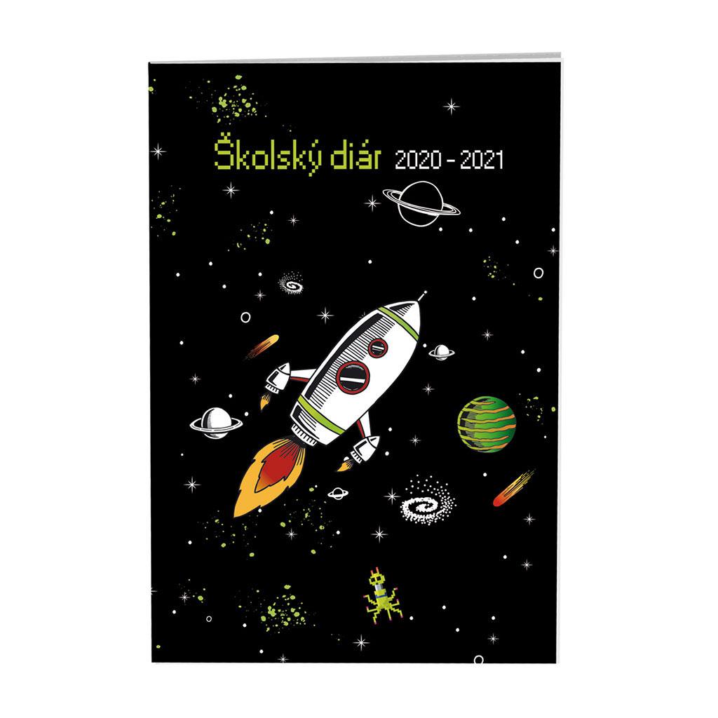 Diár školský SK 2020/21 - EXPLORE (100x150 mm)