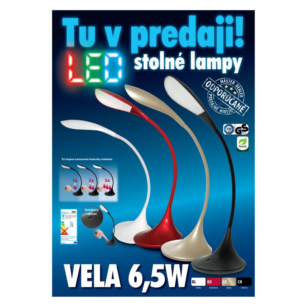 Lampa stolná VELA 1007 (LED), zlatá