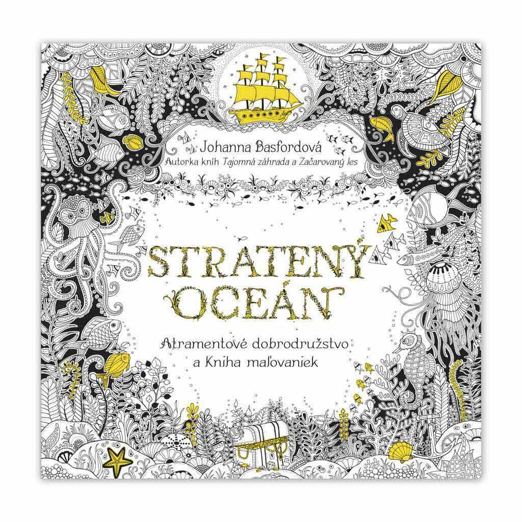 Stratený oceán - omaľovánky pre dospelých