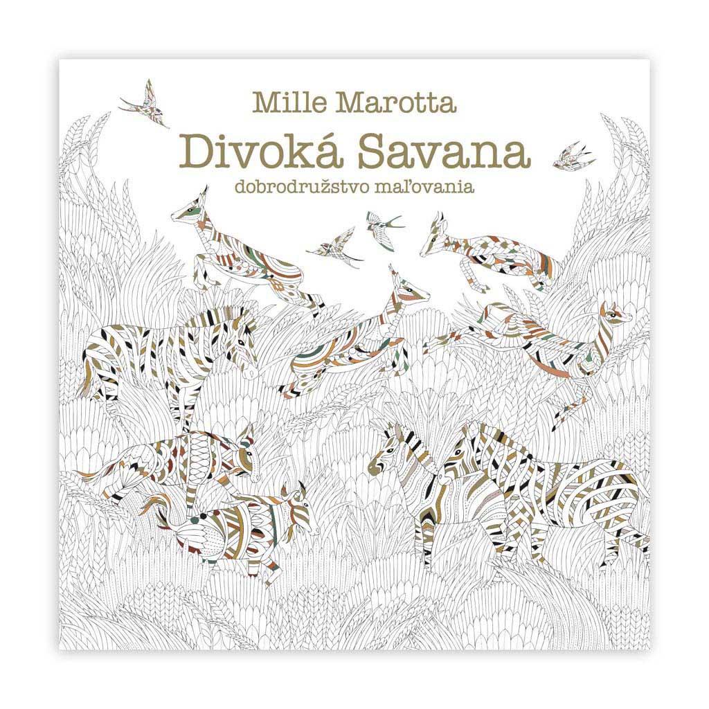 Divoká Savana - dobrodružstvo maľovania