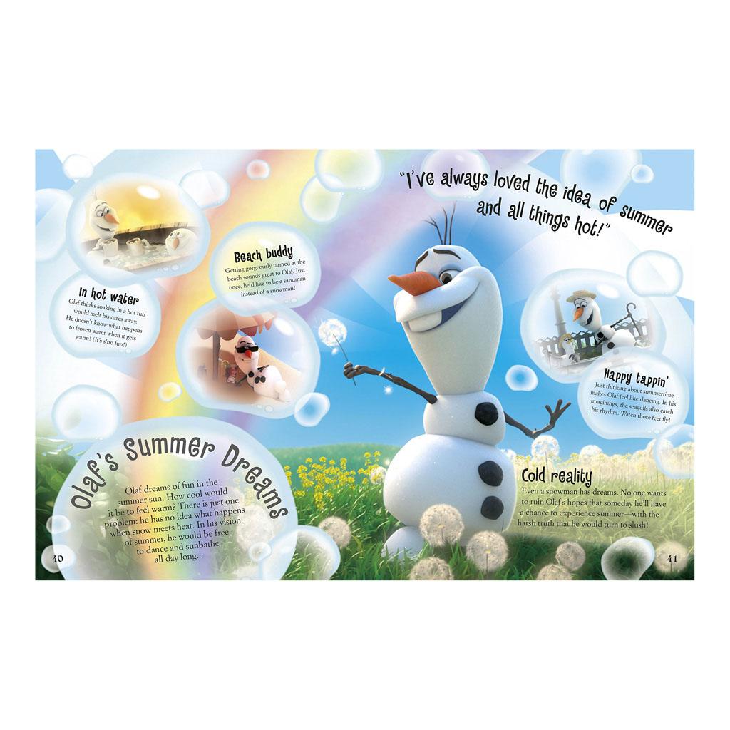 "Kniha ""Disney Frozen The Essential Guide"""
