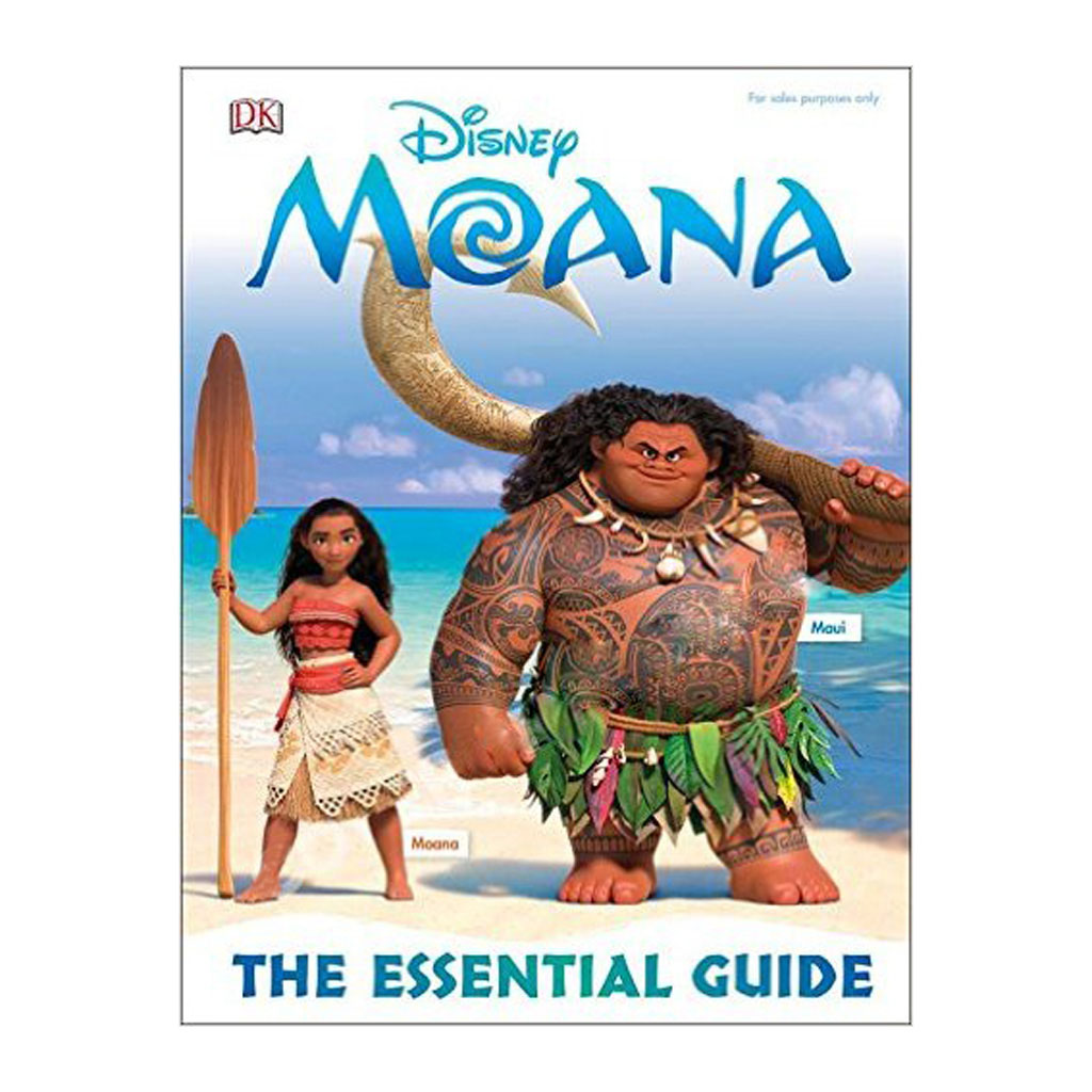 "Kniha ""Disney Moana The Essential Guide"""