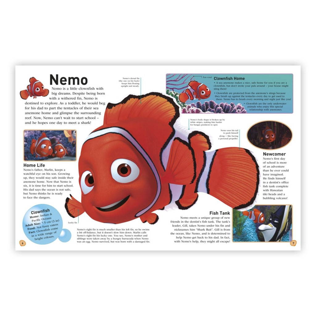 """Kniha """"Disney Pixar Finding Nemo The Essential Guide, 2nd Edition"""""""
