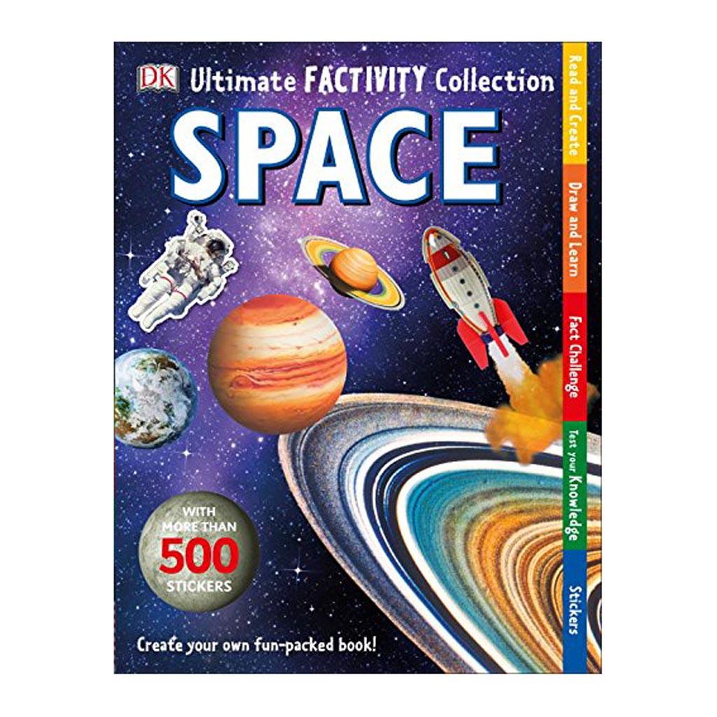 "Kniha so zábavnými aktivitami ""Ultimate Factivity Collection: Space"""