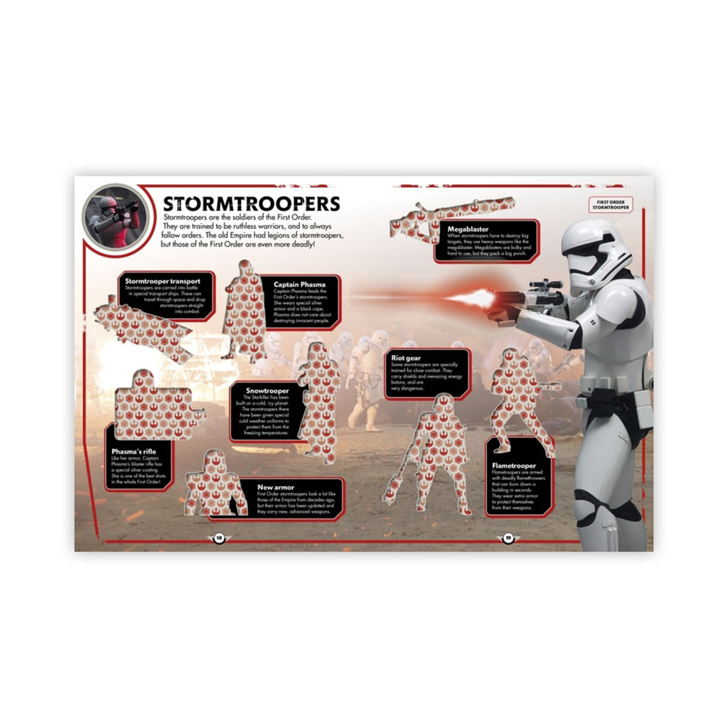 "Kniha s nálepkami ""Star Wars: The Force Awakens™ Ultimate Sticker Collection"""