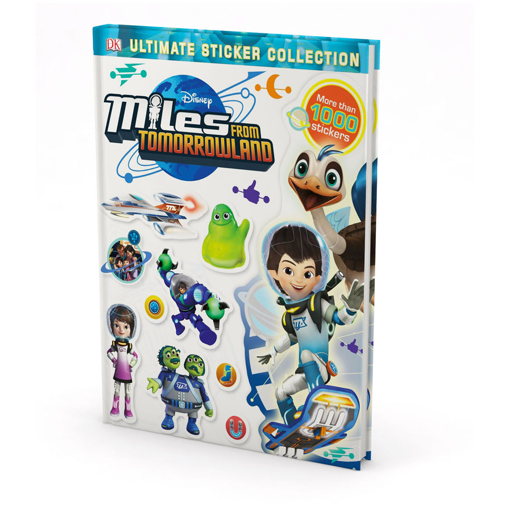 "Kniha s nálepkami ""Miles from Tomorrowland Ultimate Sticker Collection"""