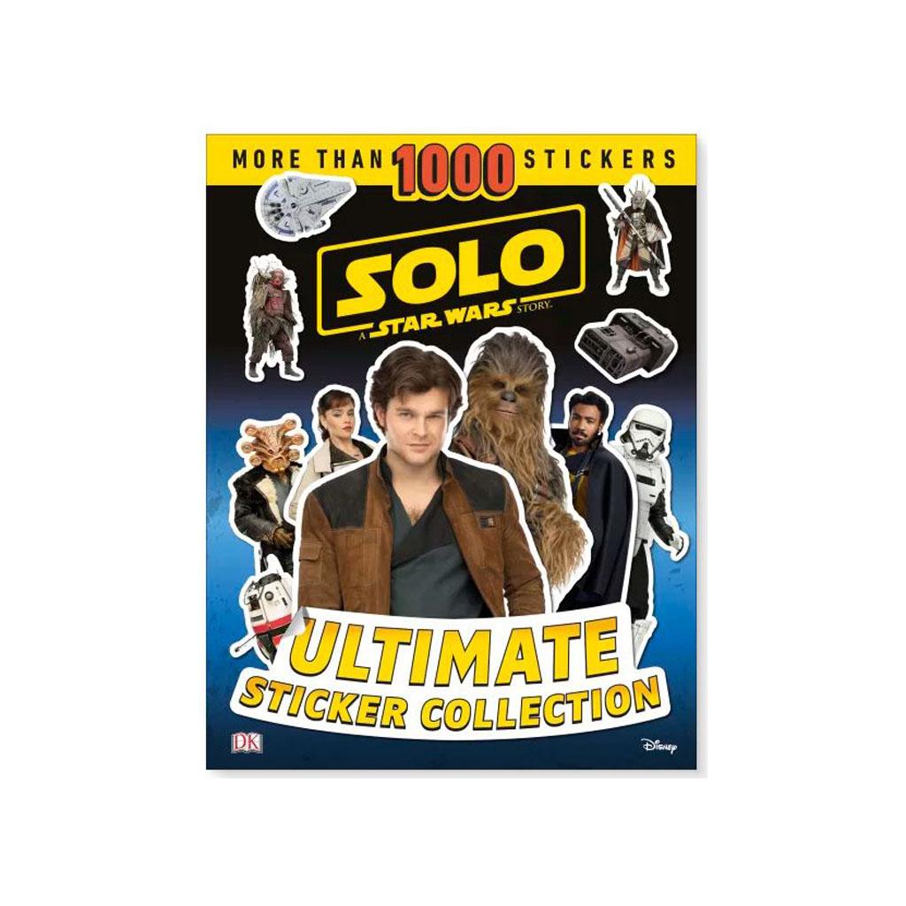 """Kniha s nálepkami """"Solo A Star Wars Story USC"""""""