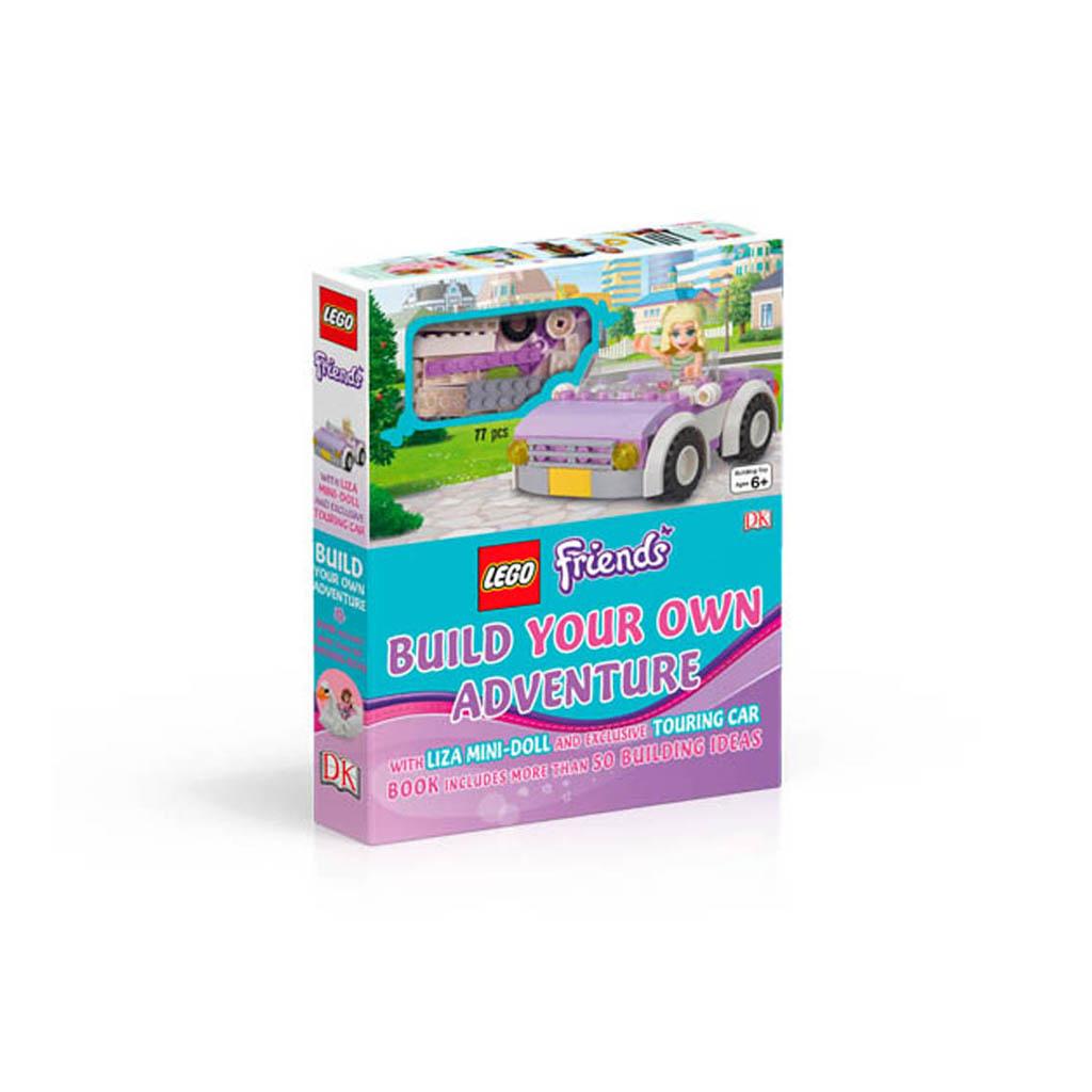 """Kniha s hračkou """"LEGO® FRIENDS Build Your Own Adventure"""""""