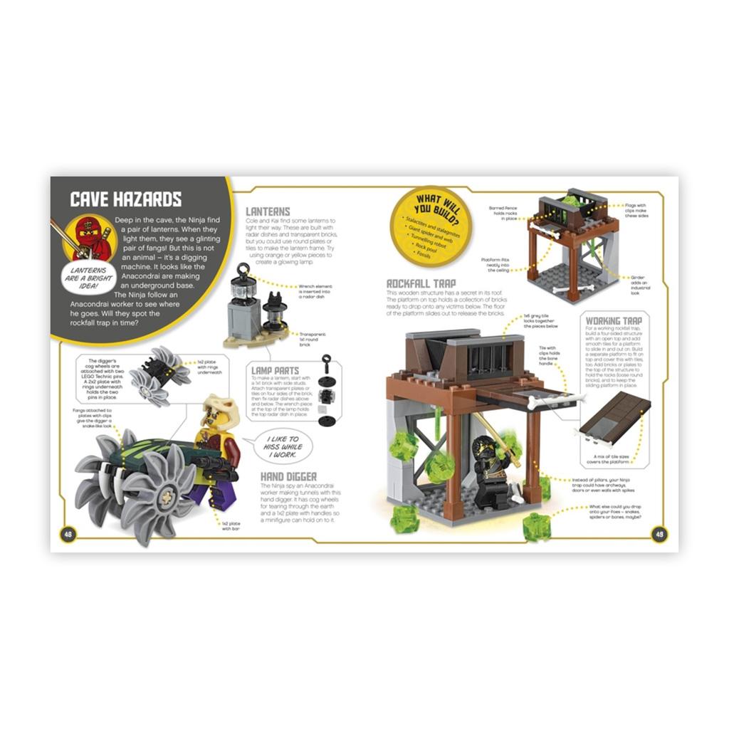 """Kniha s hračkou """"LEGO® NINJAGO Build Your Own Adventure"""""""