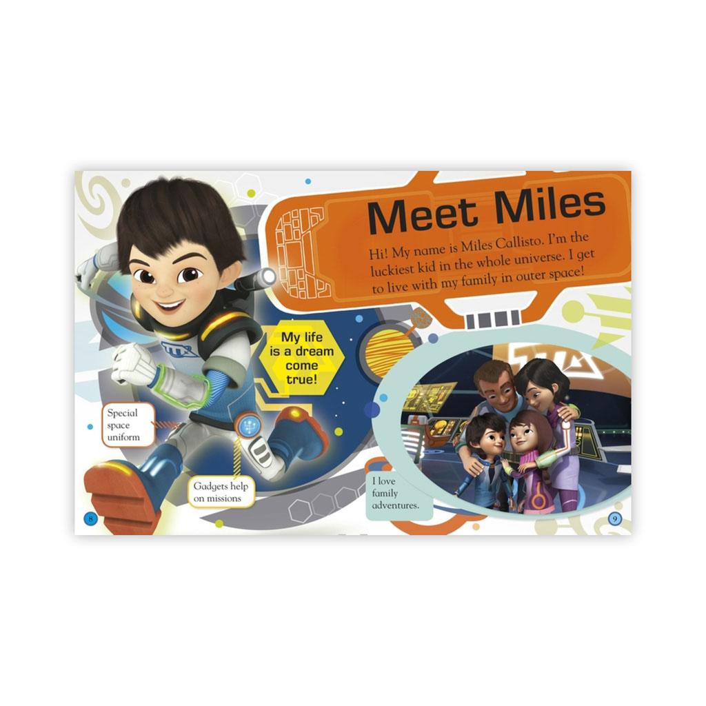 """Kniha s nálepkami """"My World Miles From Tomorrow"""""""
