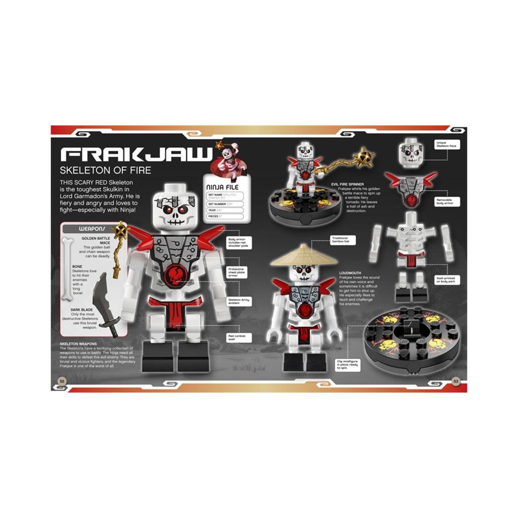 "Kniha s hračkou ""LEGO® NINJAGO Character Encyclopedia"""