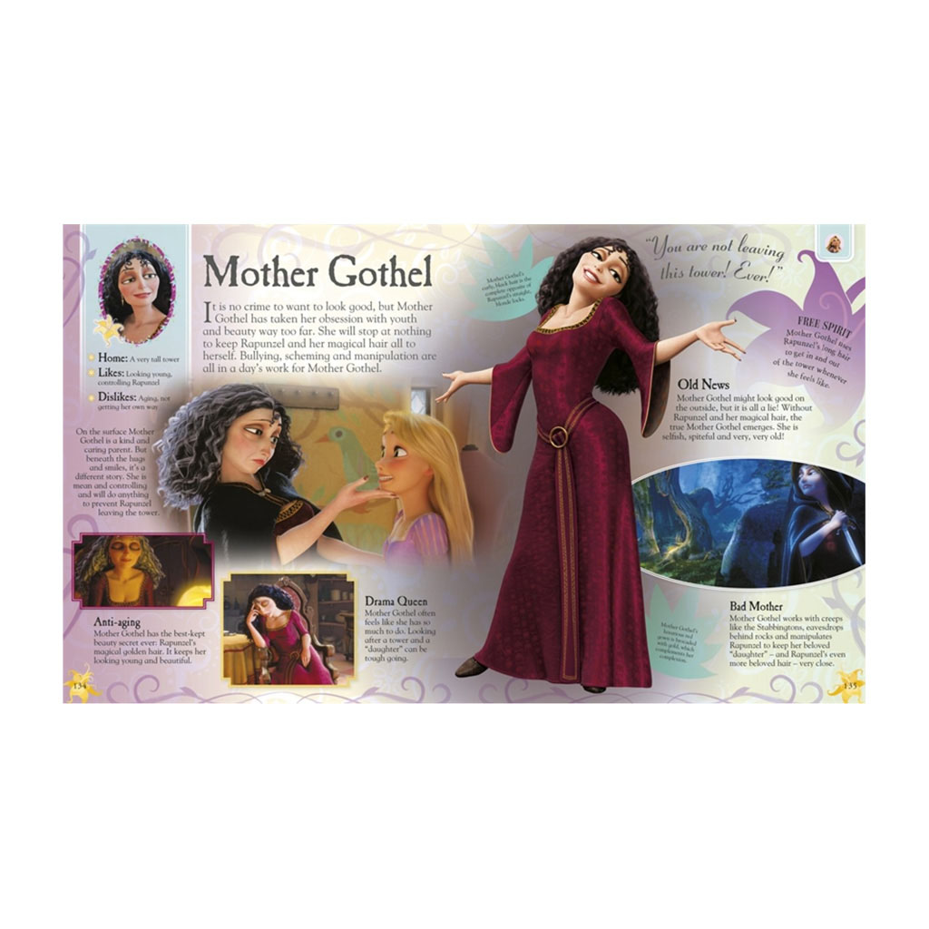 "Kniha ""Disney Princess The Ultimate Guide to the Magical Worlds"""
