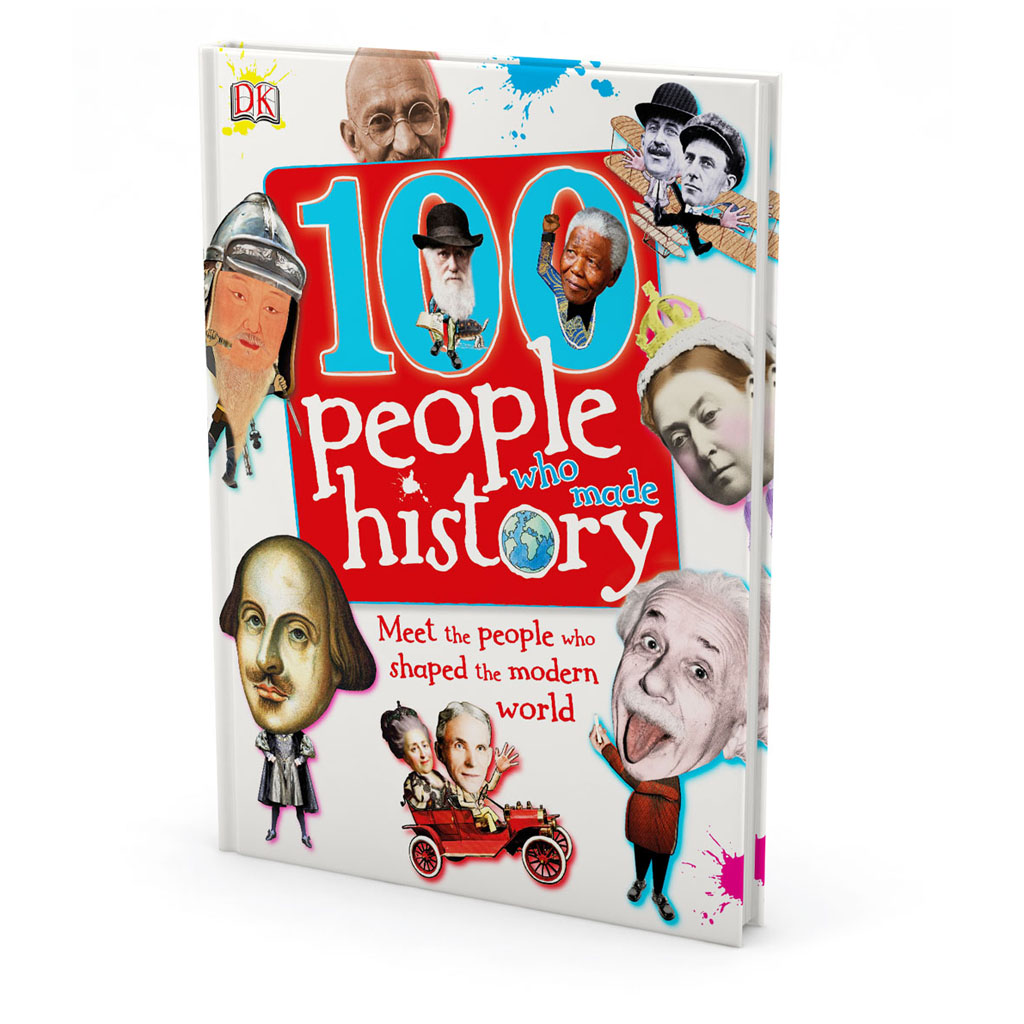 "Kniha ""100 People Who Made History"""