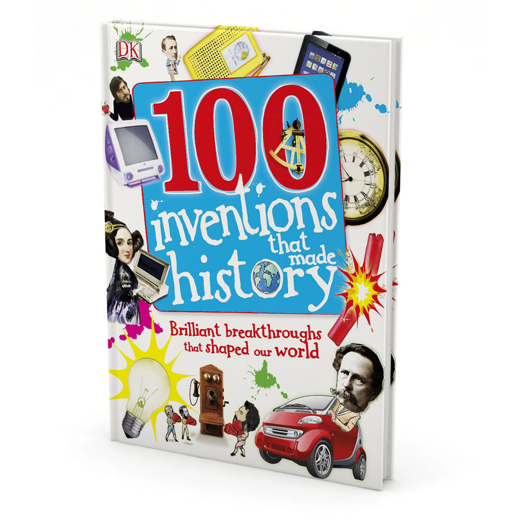 "Kniha ""100 Inventions That Made History"""