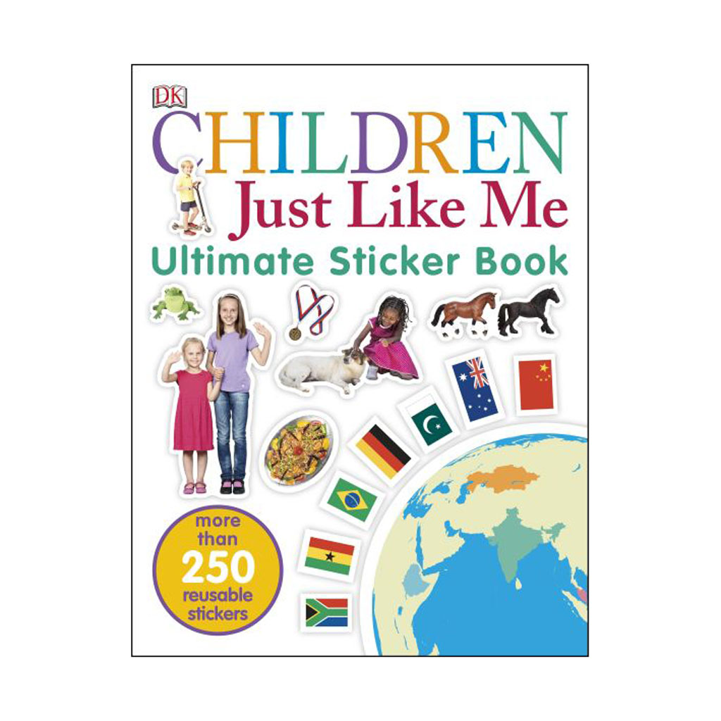 "Kniha s nálepkami ""Children Just Like Me Sticker Book"""