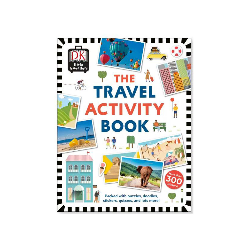 "Kniha s nálepkami ""Travel Activity Book"""