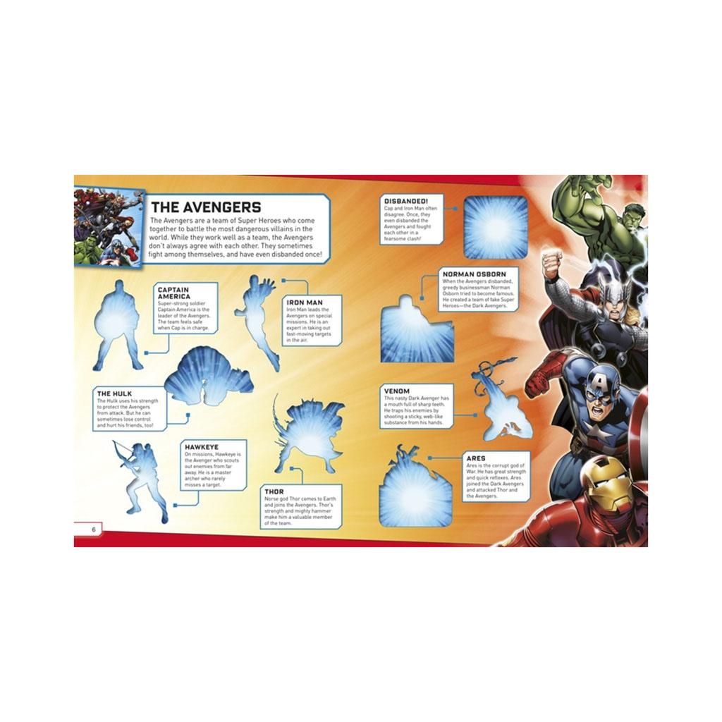 "Kniha s nálepkami ""Marvel Ultimate Sticker Book: Super Battles"""