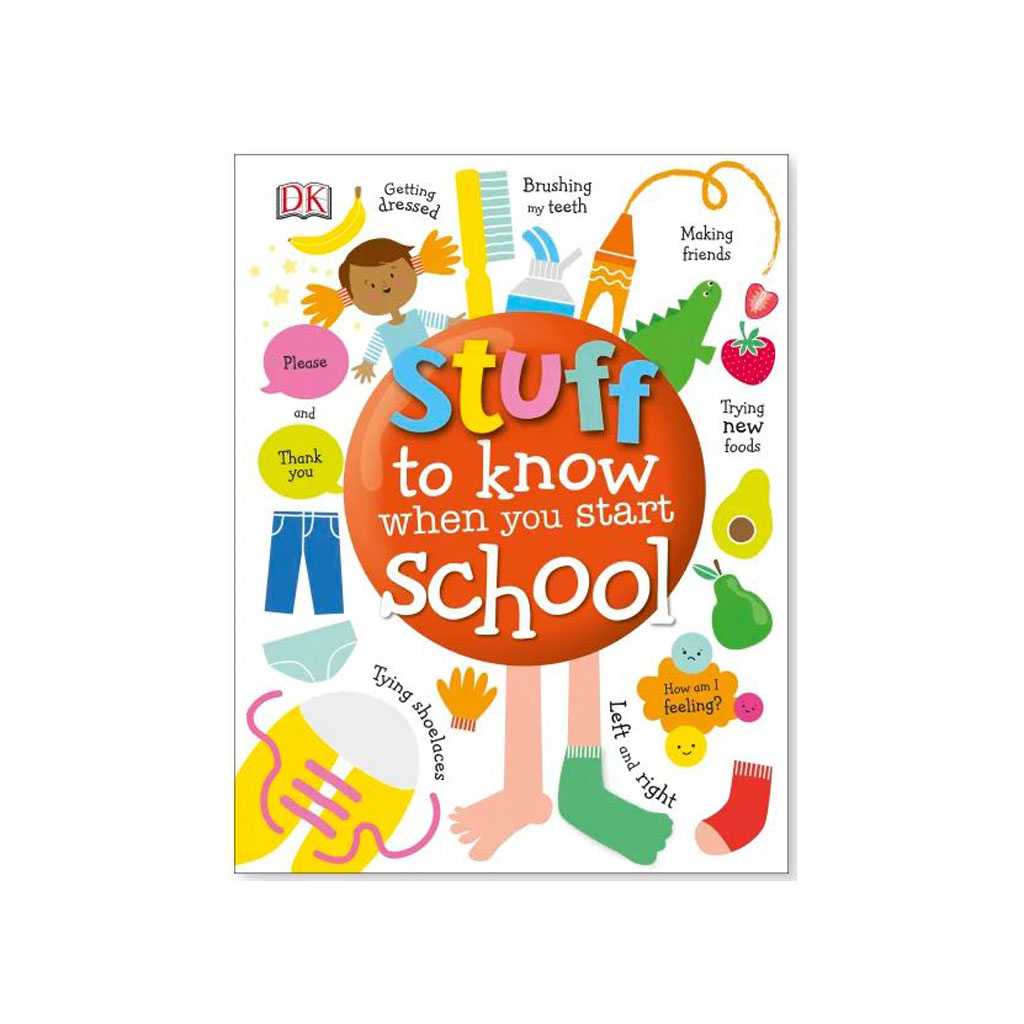 "Kniha ""Stuff to Know When You Start School"""