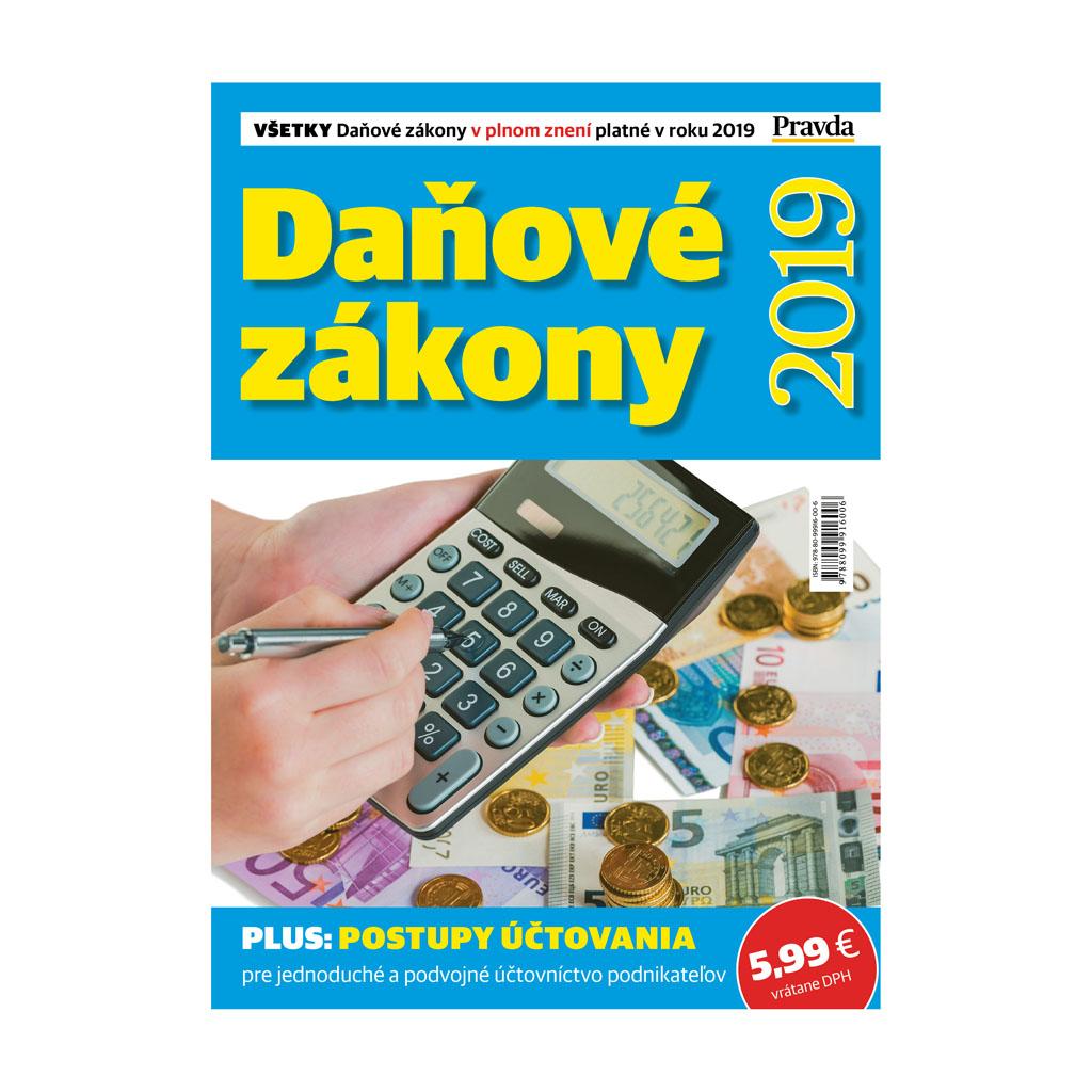 Daňové zákony v roku 2019