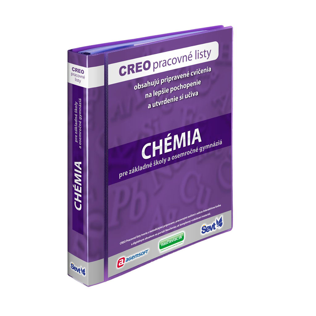 CREO Chémia pre základné školy  a osemročné gymnázia + popisovače so stierkou / 2ks
