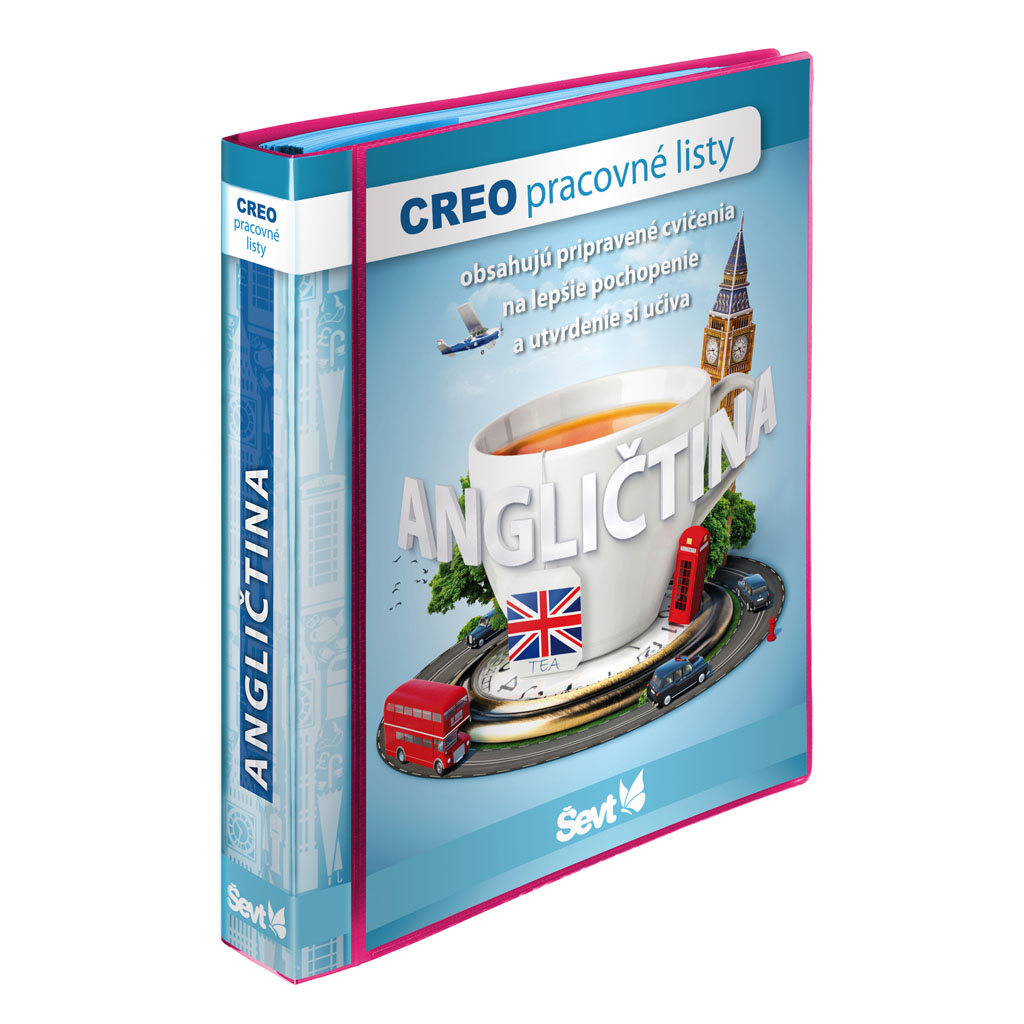 CREO Angličtina + popisovače so stierkou/2kusy