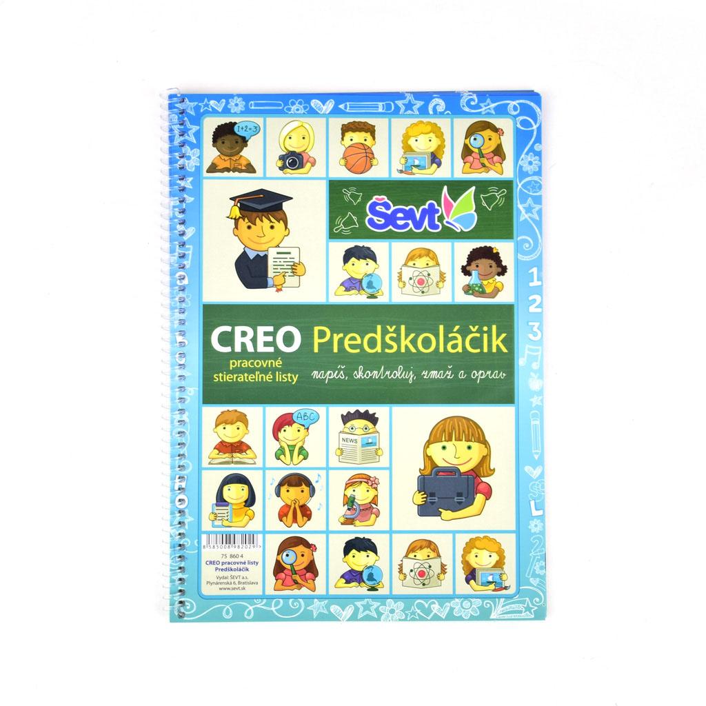 CREO pracovné listy Predškoláčik