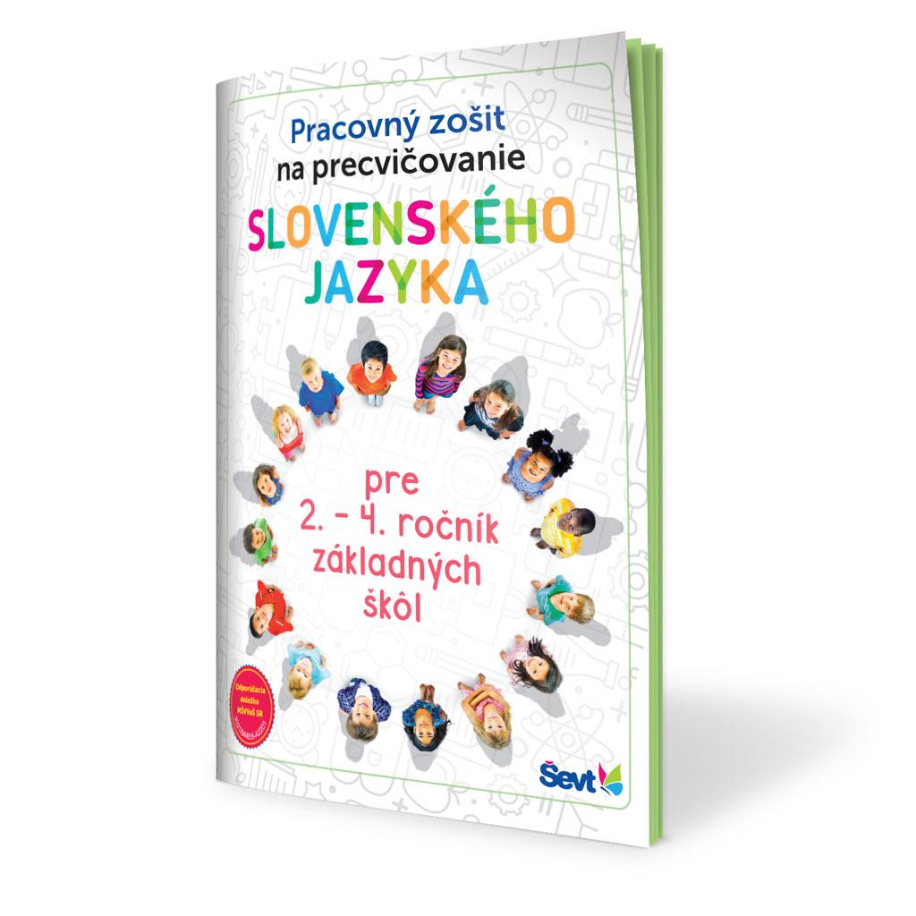 Precvičovanie slovenského jazyka - pracovný zošit