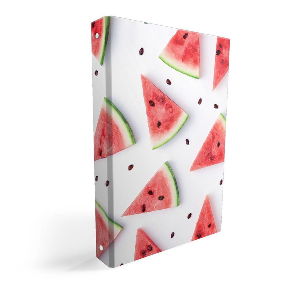 Karisblok 4-krúž., A4, 3,5 cm, lamino, ovocie - melóny 2019