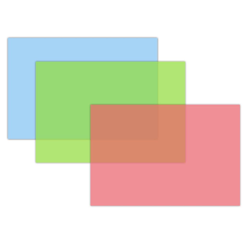 Modelovacia podložka A4, PP, mix farieb