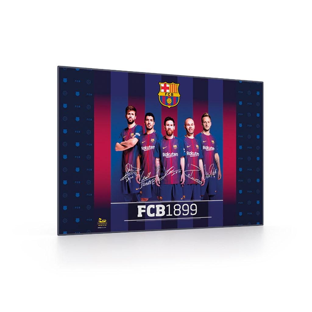 Podložka na stôl 40x60 - FC Barcelona /5-83818/
