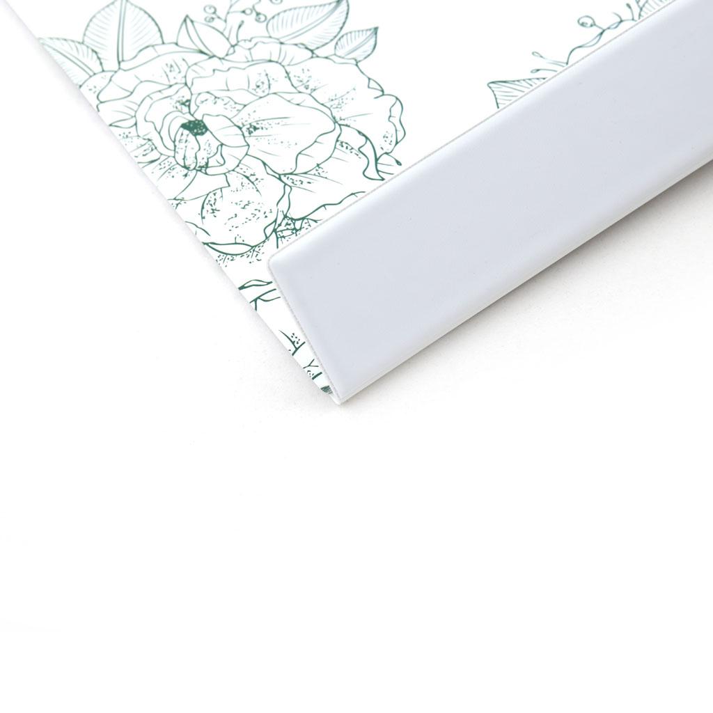Podložka na stôl ŠEVT s plast. záložkou - kvety