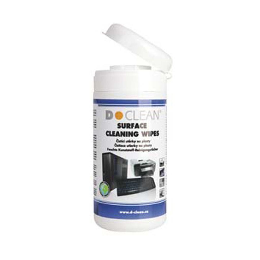 D-Clean Čistiace utierky univerzálne / 100 ks