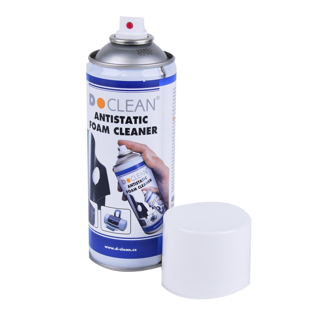 D-Clean Antistatická čistiaca pena 400 ml