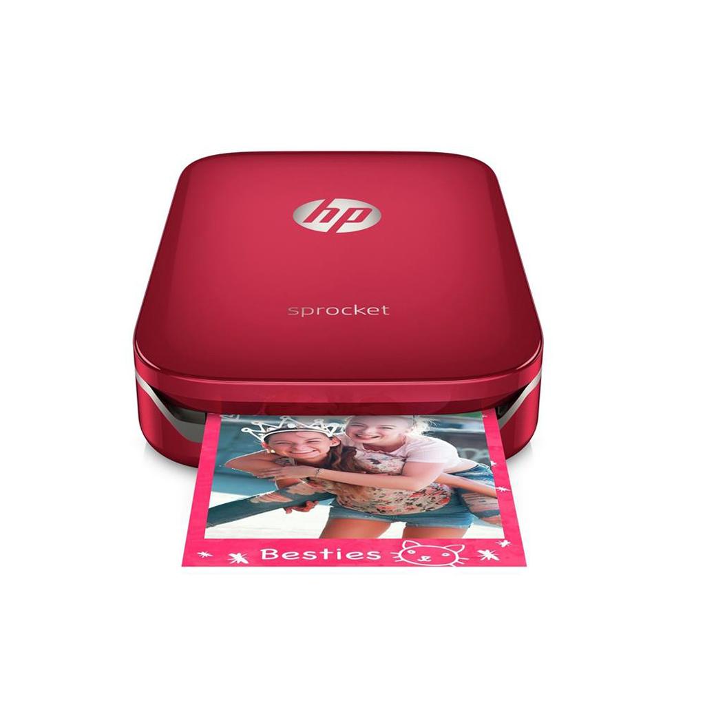 Vrecková tlačiareň HP Sprocket Z3Z93A červená