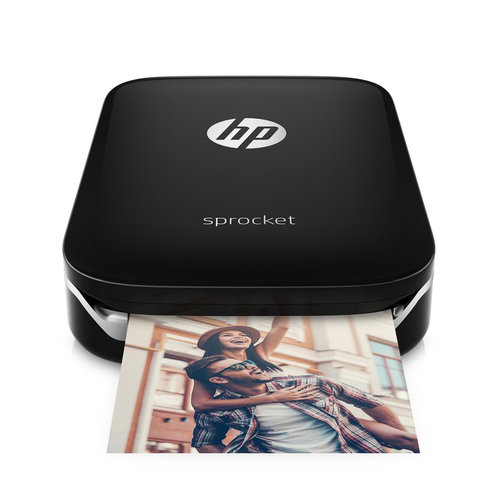 Vrecková tlačiareň HP Sprocket Z3Z92A čierna
