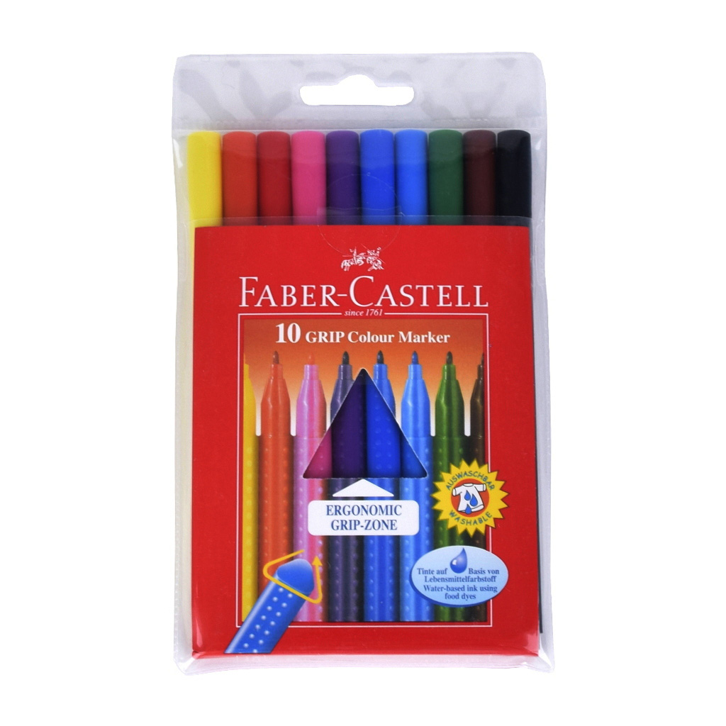 Faber Castell Fixky GRIP / 10 ks
