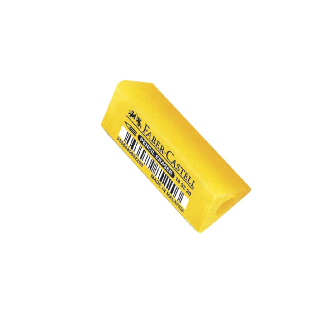 Faber Castell násuvná guma Tria / žltá neón