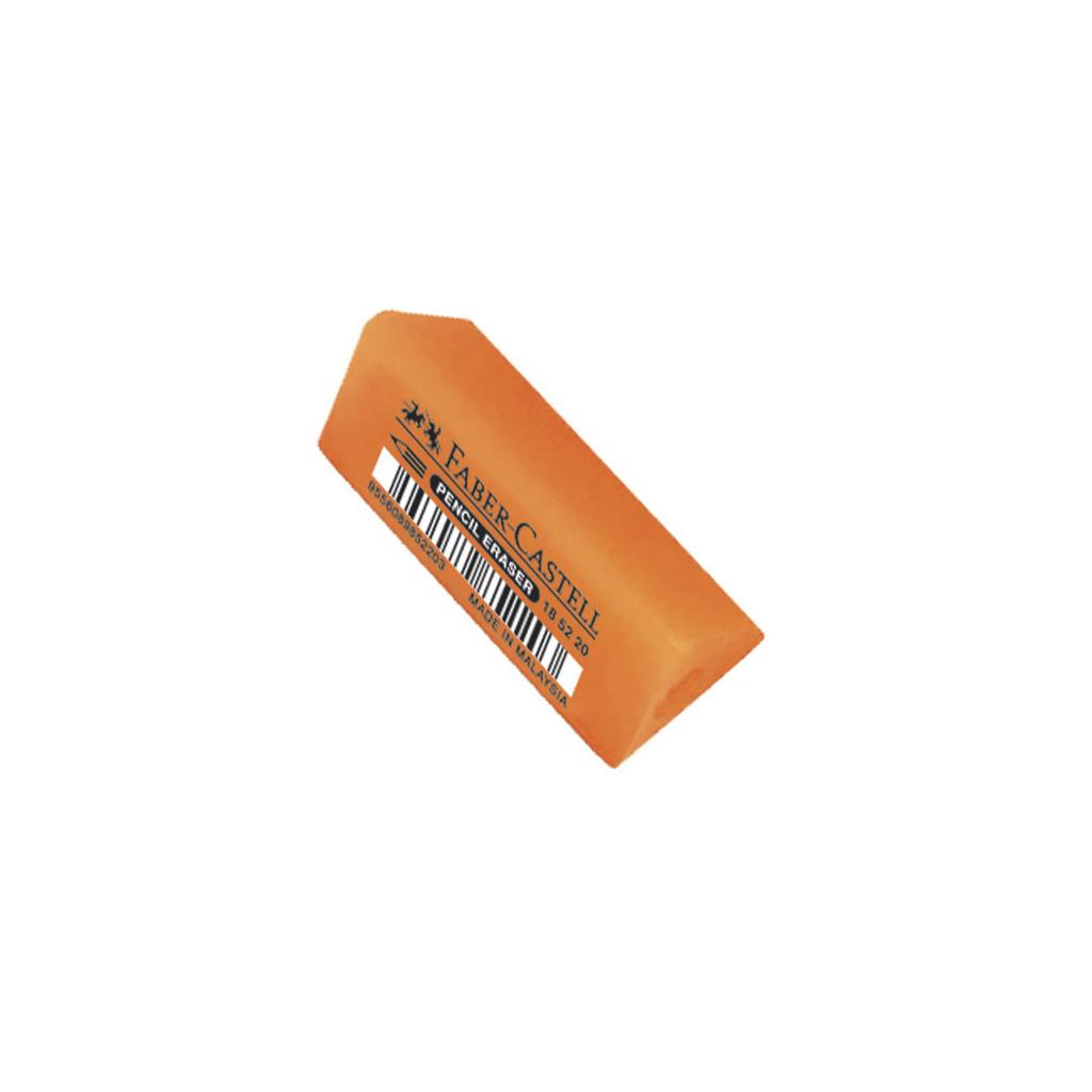Faber Castell násuvná guma Tria / oranžová neón