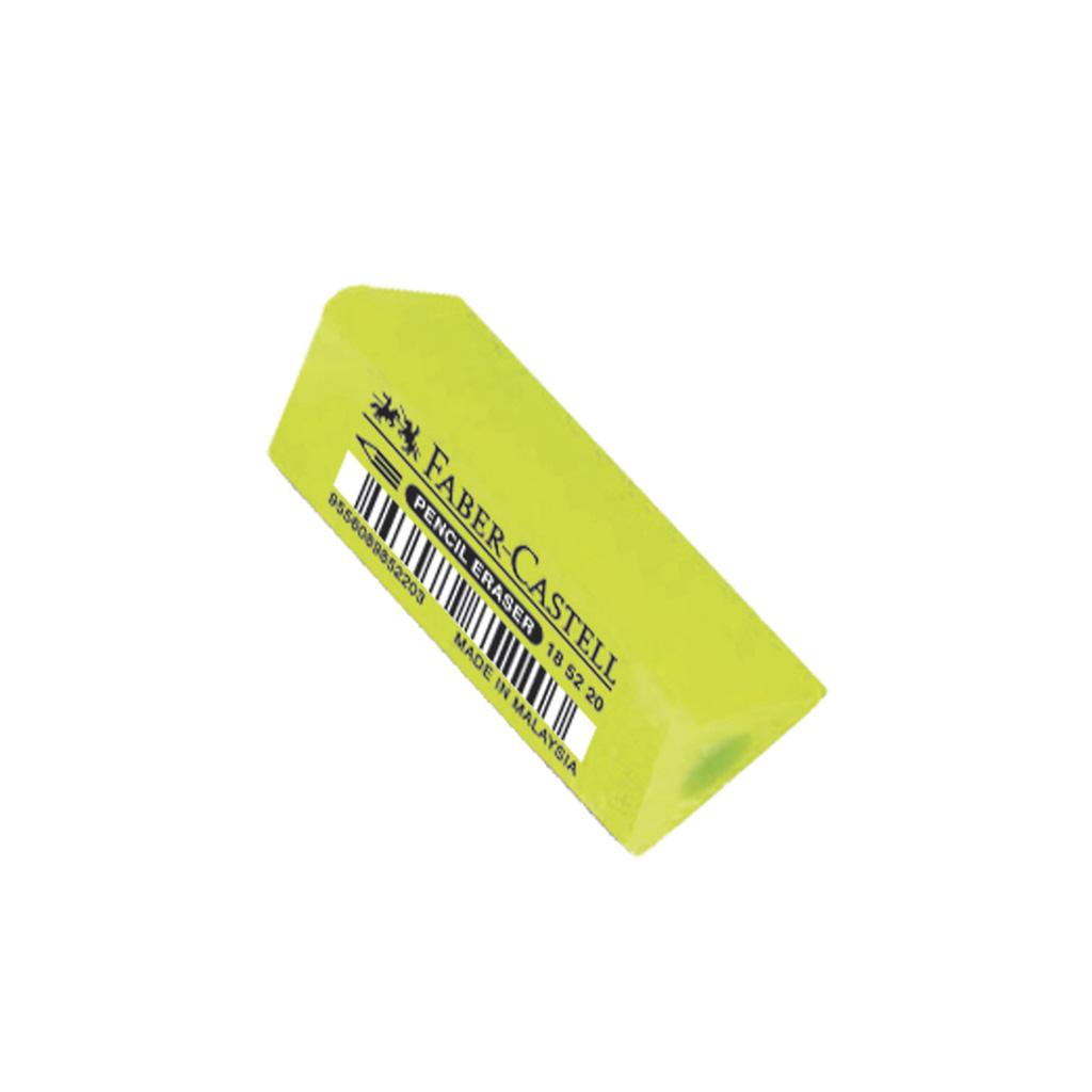 Faber Castell násuvná guma Tria / zelená neón