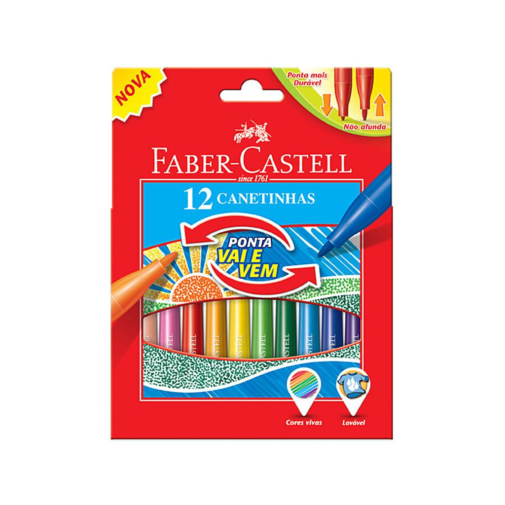 Faber Castell Fixky s pružným hrotom / 12 ks