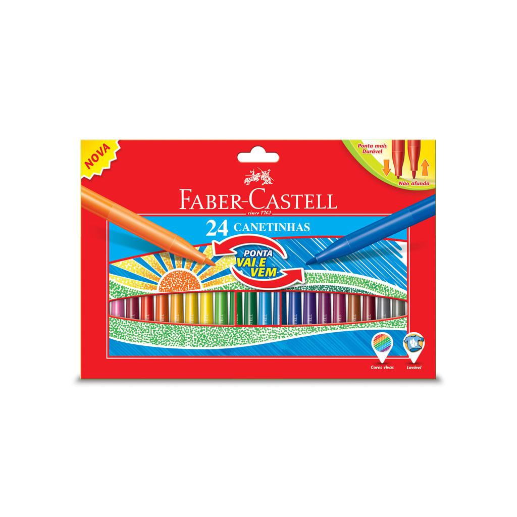 Faber Castell Fixky s pružným hrotom / 24 ks
