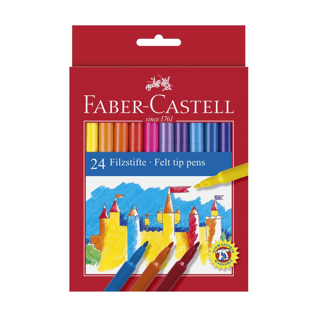 Faber Castell Fixky Fibre-Tip / 24ks