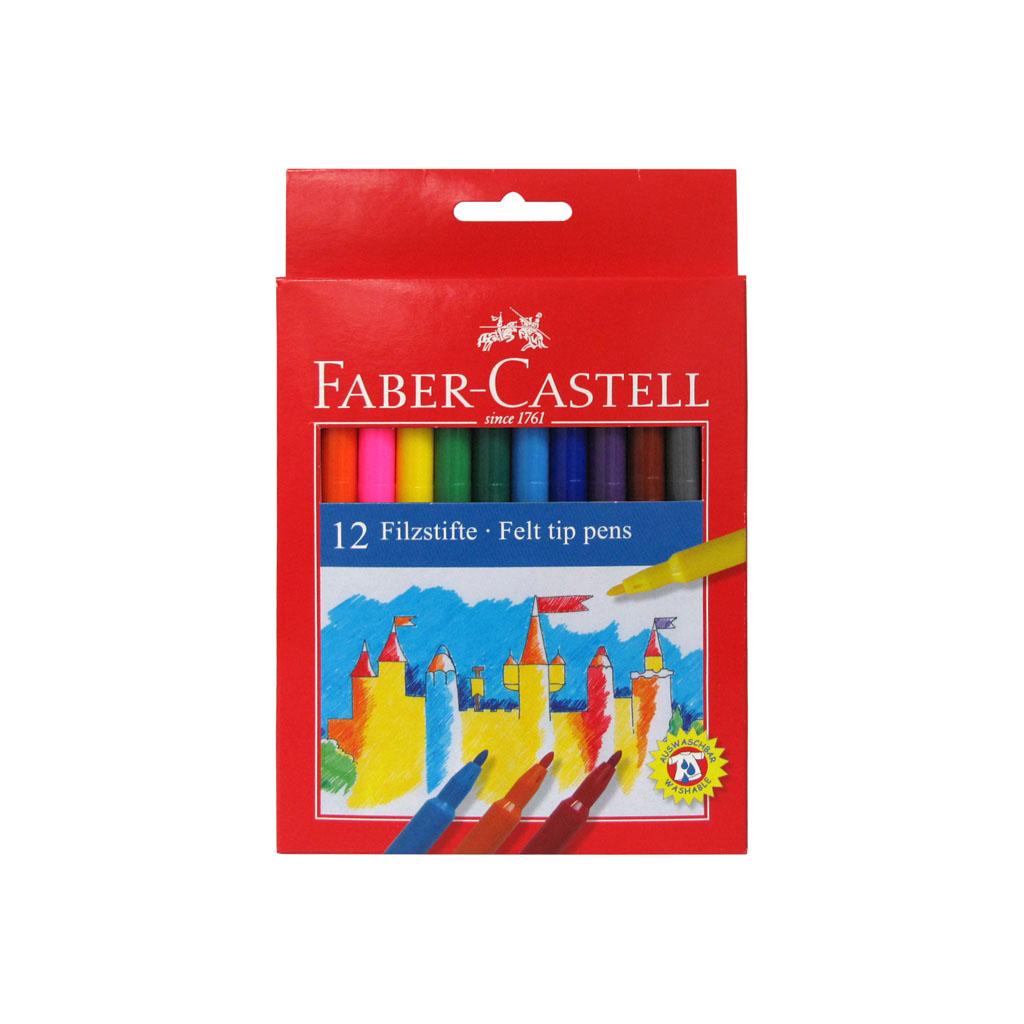 Faber Castell Fixky Fibre-Tip / 12ks